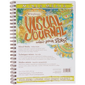 "90lb 34 Sheets - Strathmore Visual Journal Mixed Media Vellum 9""X12"""