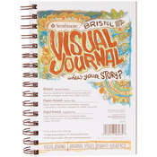 "100lb 28 Sheets - Strathmore Visual Journal Bristol Smooth 5.5""X8"""