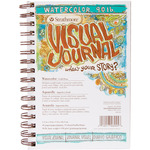 """5.5""""X8"""" Strathmore Visual Journal Watercolor"""