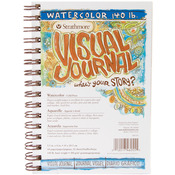 "Cold Press 140lb 22 Sheets - Strathmore Visual Journal Watercolor 5.5""X8"""