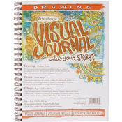 "100lb 42 Sheets - Strathmore Visual Journal Drawing 9""X12"""