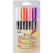 White, Pink, Orange And Purple - Bistro Chalk Marker Set 4/Pkg