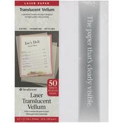 "50 Sheets - Strathmore Laser Translucent Vellum 8.5""X11"""