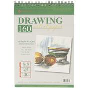 """24 Sheets - Spiral Drawing Pad 6""""X8"""""""
