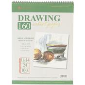 """24 Sheets - Spiral Drawing Pad 11""""X14"""""""