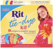 Turquoise, Yellow & Fuchsia - Rit Tie-Dye Kit