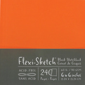 "120 Pages-Mandarin - Flexi-Sketch Blank Sketch Book 6""X6"""
