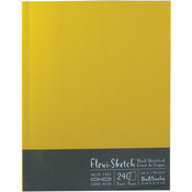 "240 Sheets-Butternut - Flexi-Sketch Blank Sketch Book 11""X8.5"""