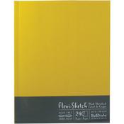 "240 Sheets-Butternut - Flexi-Sketch Blank Sketch Book 11""X8.5"""