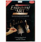 "Copper - Foil Engraving Art Blank Boards 8""X10"" 6/Pkg"