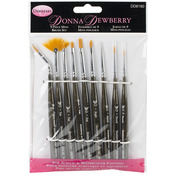Donna Dewberry Mini Brush Set 9pc