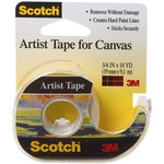 "Scotch Artist Tape For Canvas .75""X10yd"