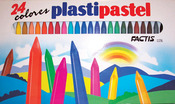 24pcs - Factis Plastipastel Set