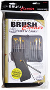"Short Handle-Black - Keep N' Carry Zippered Brush Carrier 12.5""X11.25"""