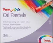 Assorted Colors - Pentel Oil Pastels 36/Pkg