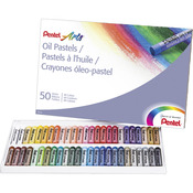 Assorted Colors - Pentel Oil Pastels 50/Pkg