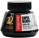 Super Black India Ink - Speedball