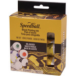 Oil-Based - Speedball Block Printing Ink 1.25oz 6/Pkg