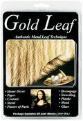 """Gold - Metal Leaf Sheets 5.5""""X5.5"""" 25/Pkg"""