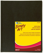 "80 Sheets - Simply Art Sketch Book 5-1/4""x7-1/4"""