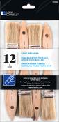 """1"""" Width - Chip Brush Set 12/Pkg"""