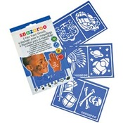 Boys' Adventure - Snazaroo Face Painting Stencils 6/Pkg