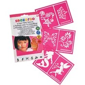 Girls' Fantasy - Snazaroo Face Painting Stencils 6/Pkg