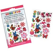 Girls - Snazaroo Temporary Tattoos 20/Pkg