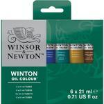 Assorted Colors - Winton Oil Paints 6/Pkg