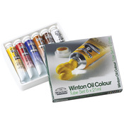 Assorted Colors - Winton Oil Paints 21ml/Tube 6/Pkg