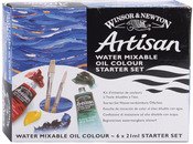 Winton Artisan Water Mixable Oil Paint Starter Set