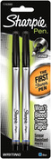 Blue - Sharpie Fine Point Writing Pens 2/Pkg