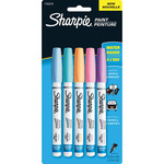 Sharpie Pastel Paint Pen Extra - Fine 5/Pkg - Pink, Blue, Peach, Aqua and Lavend