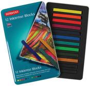 Derwent Inktense Blocks 12/Pkg