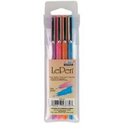Le Pens .03mm Point 4/Pkg - Fluorescent