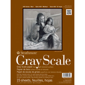 "9""X12"" Strathmore Assorted Gray Scale Paper Pad"
