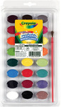 24 colors - Crayola Washable Watercolors