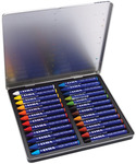 Assorted Colors - Lyra Aquacolor Watersoluble Crayons 24/Pkg