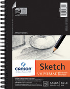 """100 Sheets - Canson Universal Spiral Sketch Book 5.5""""X8.5"""""""