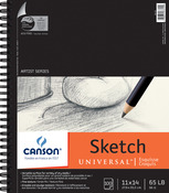 """100 Sheets - Canson Universal Spiral Sketch Book 11""""X14"""""""