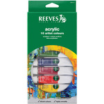 Assorted Colors - Reeves Acrylic Paints 22ml 10/Pkg