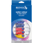 Assorted Colors - Reeves Watercolor Paint 22ml 10/Pkg