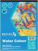 """35 Sheets-90lb - Water Color Paper Pad 9""""X12"""""""