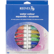 Assorted Colors - Reeves Watercolor Paint 10ml 24/Pkg
