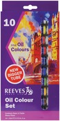 Assorted Colors - Reeves Oil Paint 22ml 10/Pkg