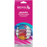 Assorted Colors - Reeves Gouache Watercolor 10ml 12/Pkg