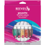 Assorted Colors - Reeves Gouache Watercolor 10ml 18/Pkg