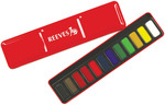 Red Metal Tin-Assorted Colors - Reeves Watercolor Cakes 12/Pkg