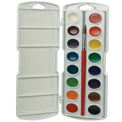 Assorted Colors - Prang Watercolor Paint Cakes 16/Pkg
