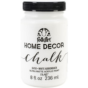 White Adirondack - FolkArt Home Decor Chalk Paint 8oz